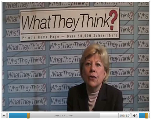 Barb Pellow talks about SaaS on What-They-Think